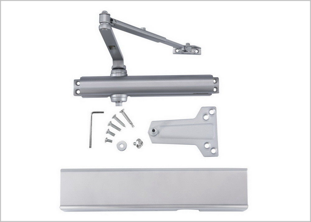 Automatic Heavy Duty Commercial Door Closer UL Listed Fire Rated For Wood Metal Door